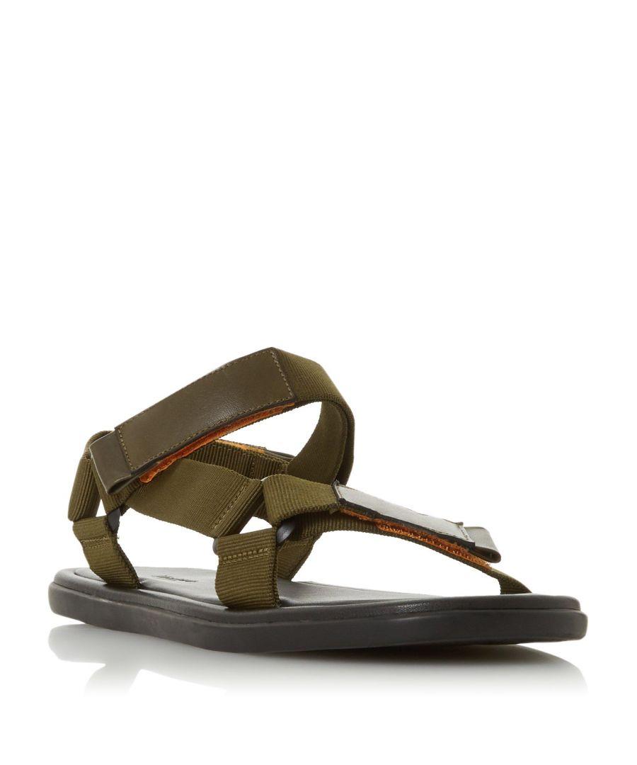 Image for Dune Mens FLAIRSS Rip Tape Strap Adventure Sandal