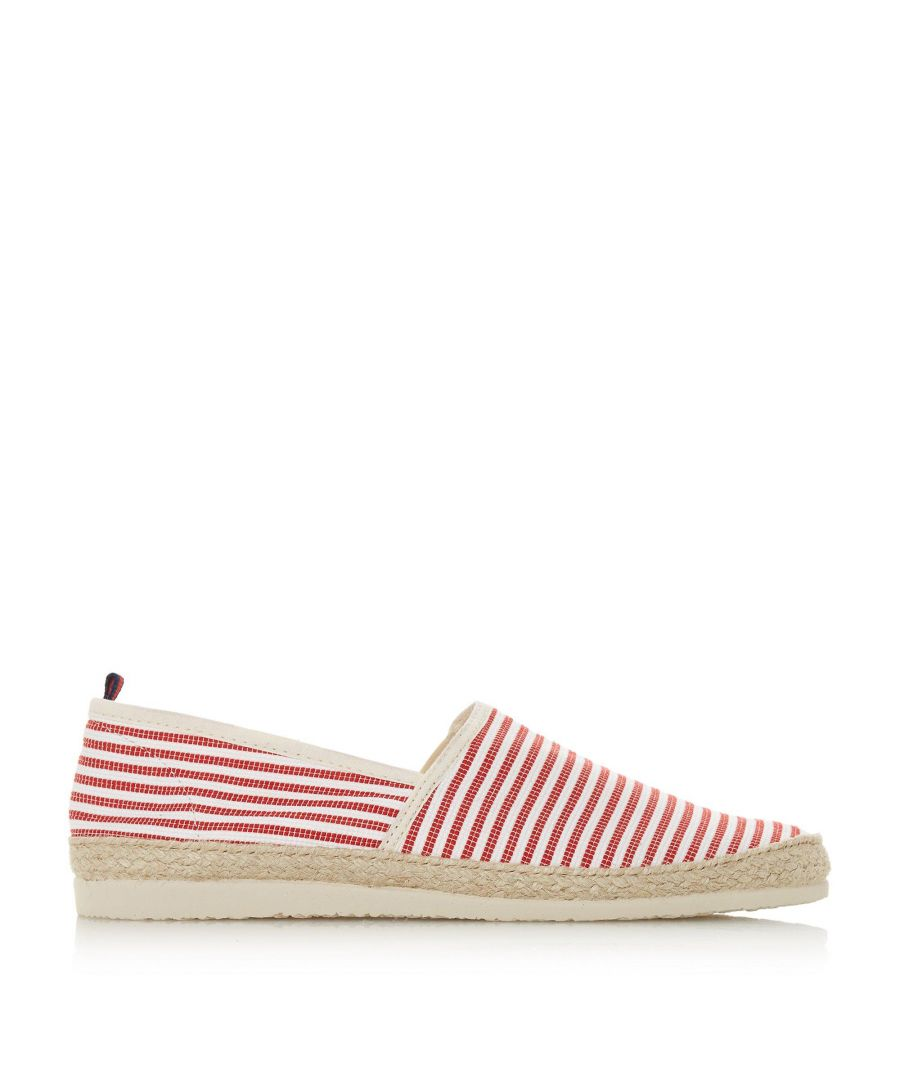 Image for Dune Mens FLAMINI Stripe Espadrille Shoes
