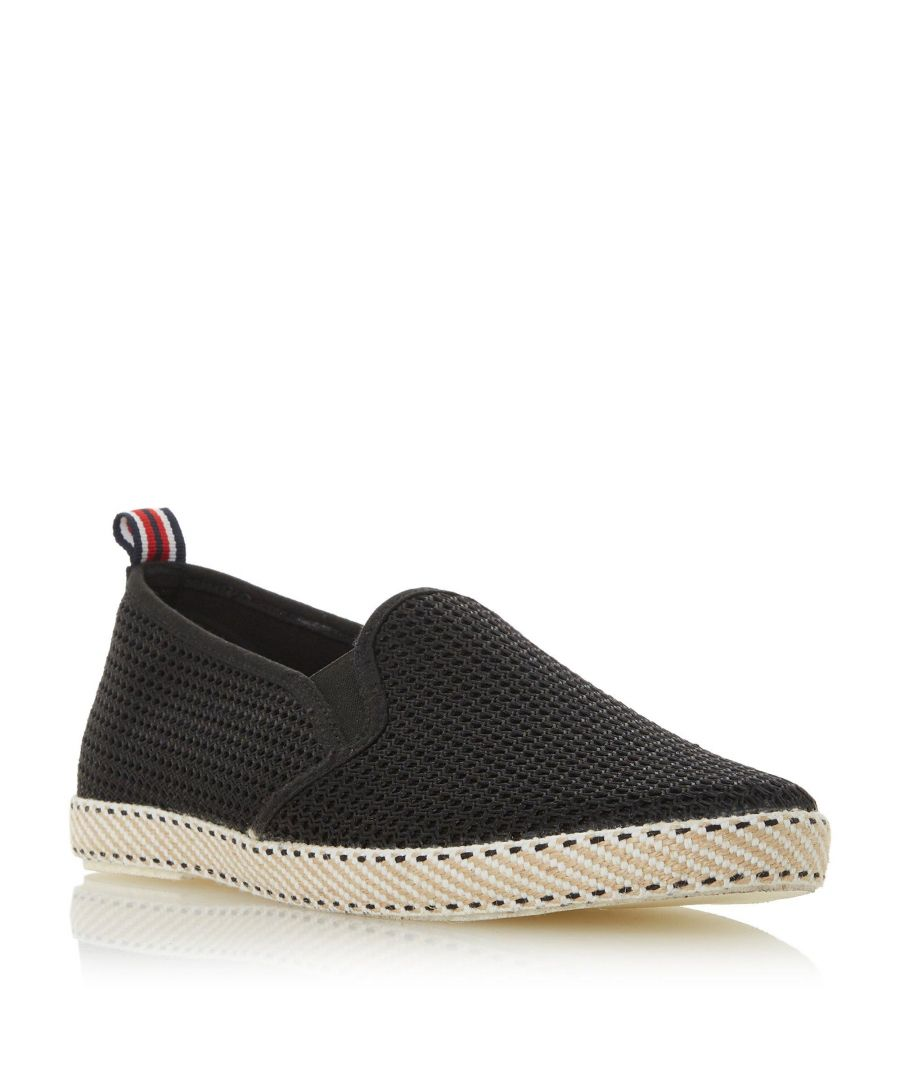 Image for Dune Mens FLIN Mesh Espadrille Shoe
