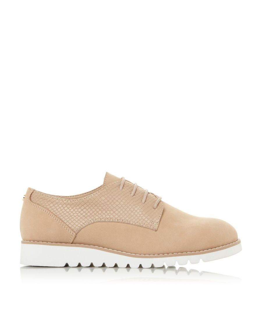 Image for Dune Ladies FLINCH Mixed Upper Lace Up Shoes