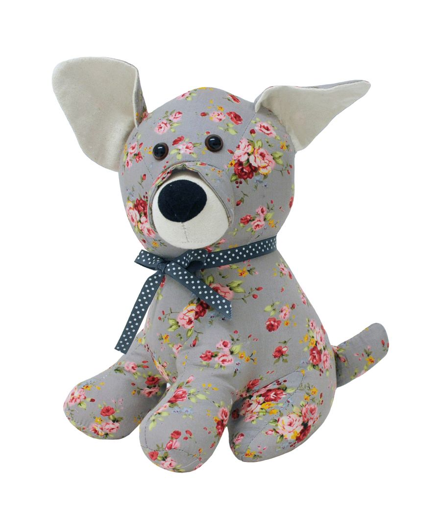 Image for Floral Dog Doorstop