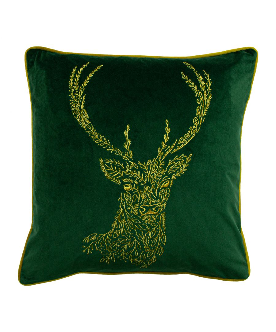 Image for Forest Fauna Stag Cushion
