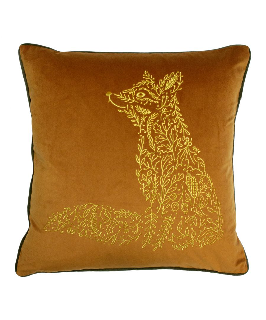 Image for Forest Fauna Fox Cushion