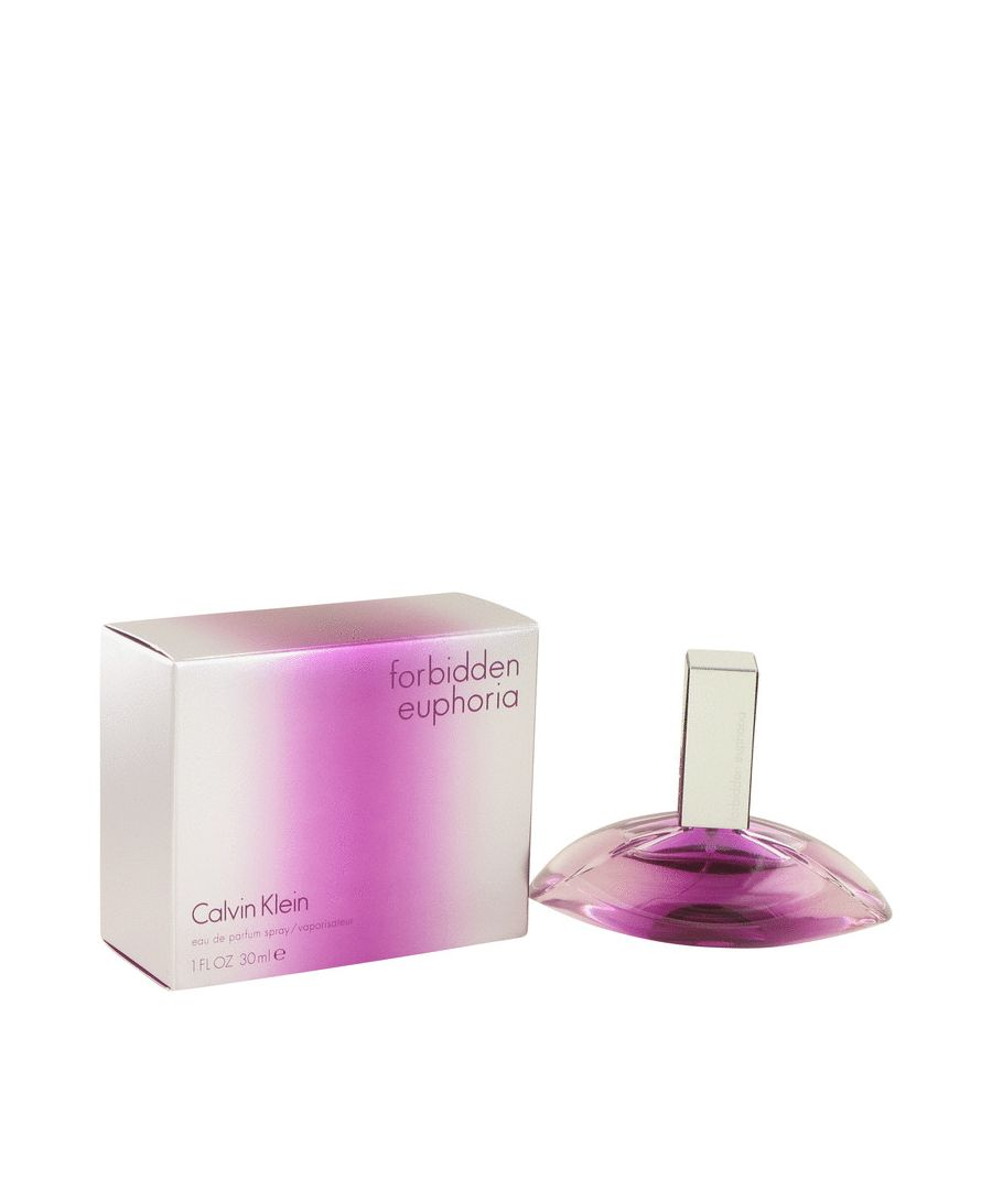 Image for Forbidden Euphoria Eau De Parfum Spray By Calvin Klein 30 ml