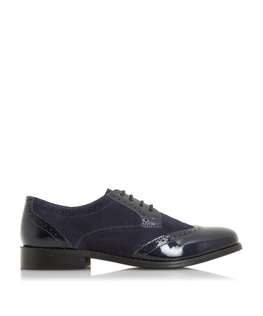 Image for Dune Ladies FOXXY Mix Material Lace Up Brogue