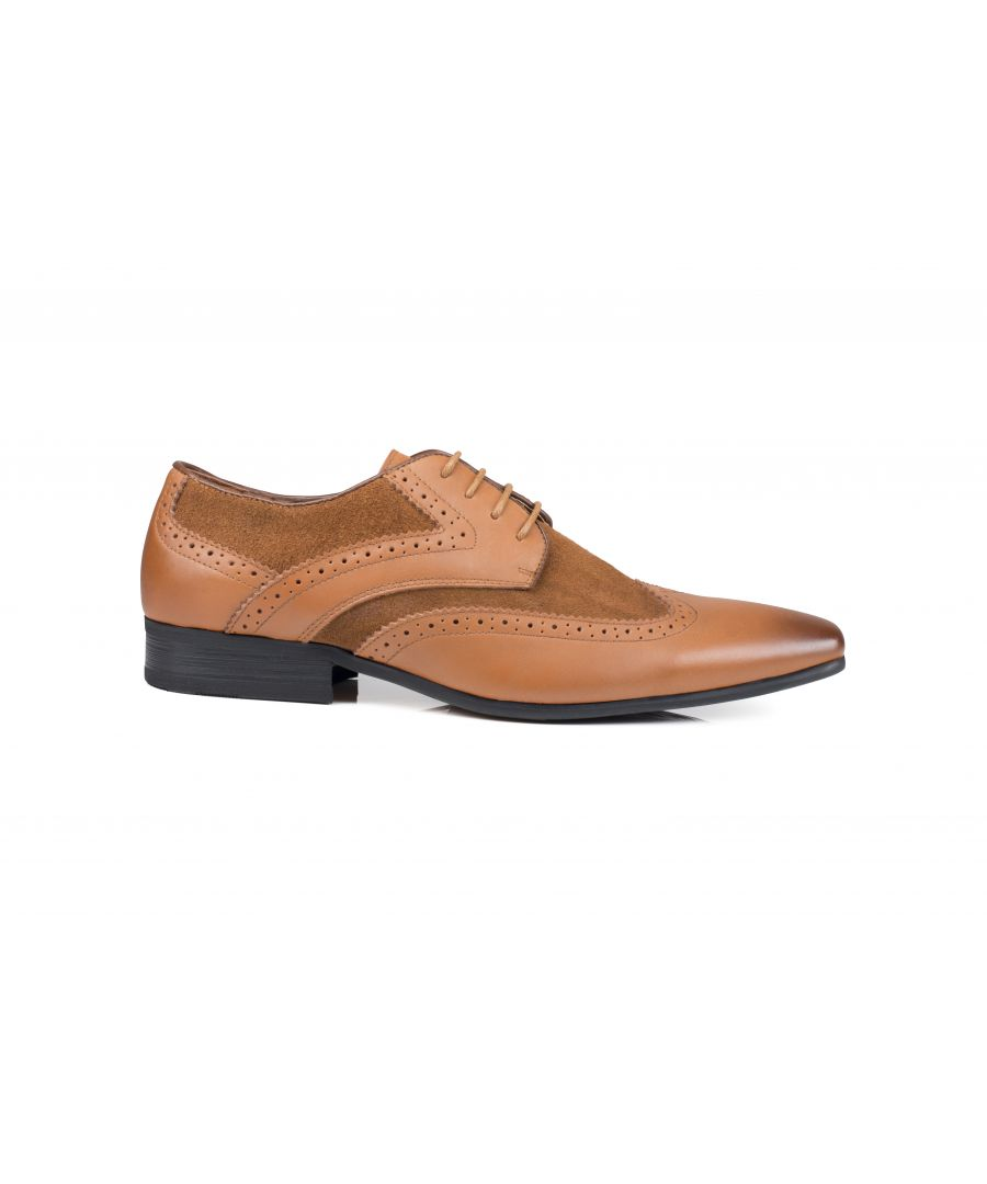 Image for Turin Derby Shoe Brown/Tan