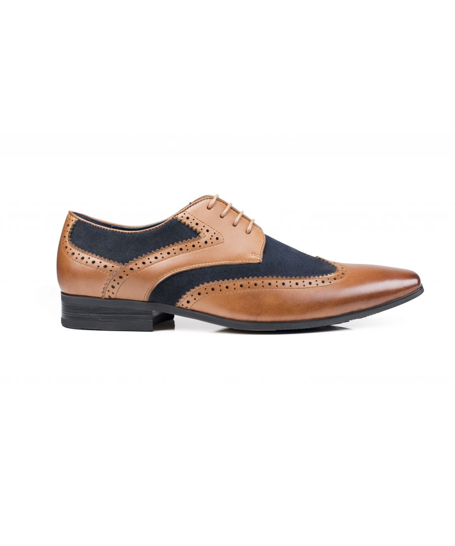 Image for Turin  Derby Shoe Tan / Navy