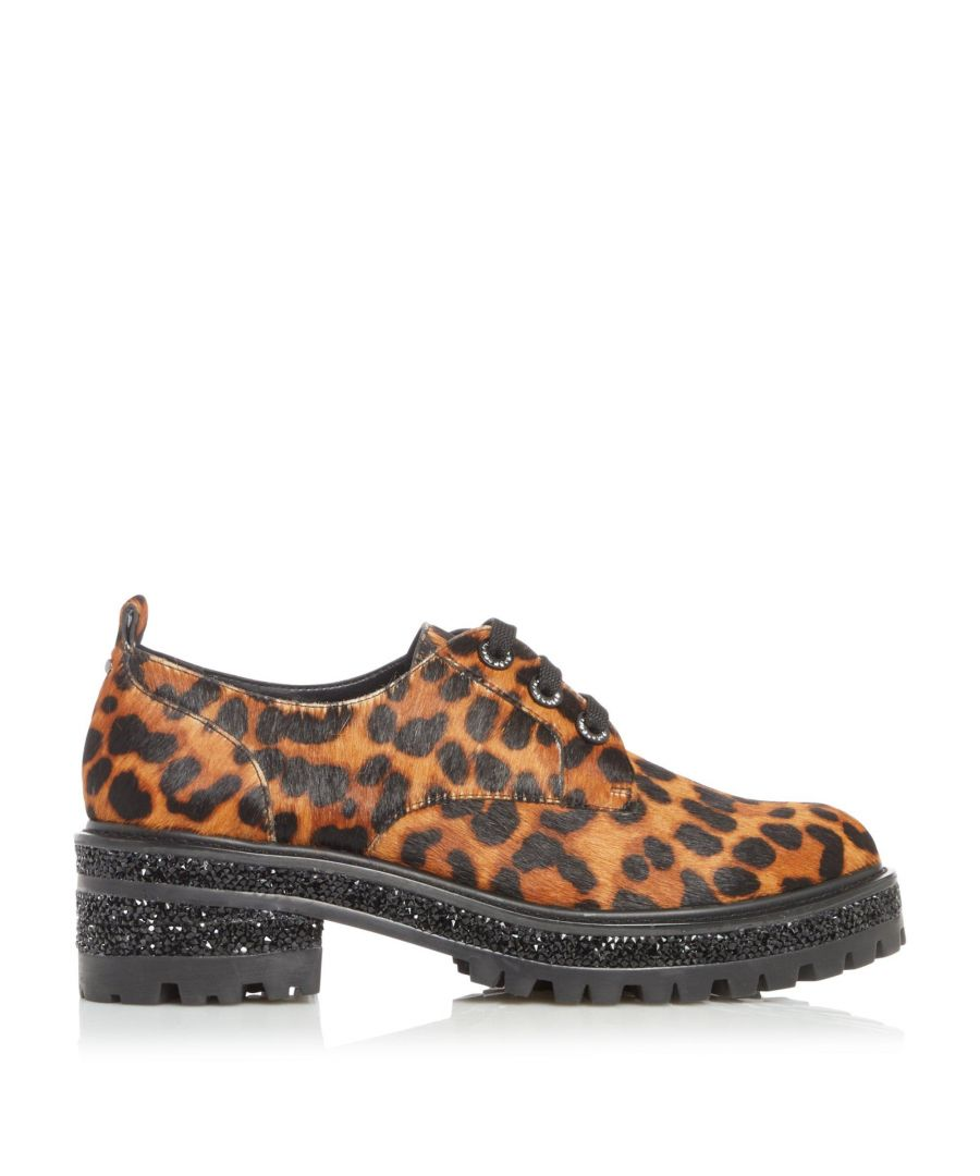 Image for Dune Ladies FRANKA Chunky Sole Lace Up Shoes