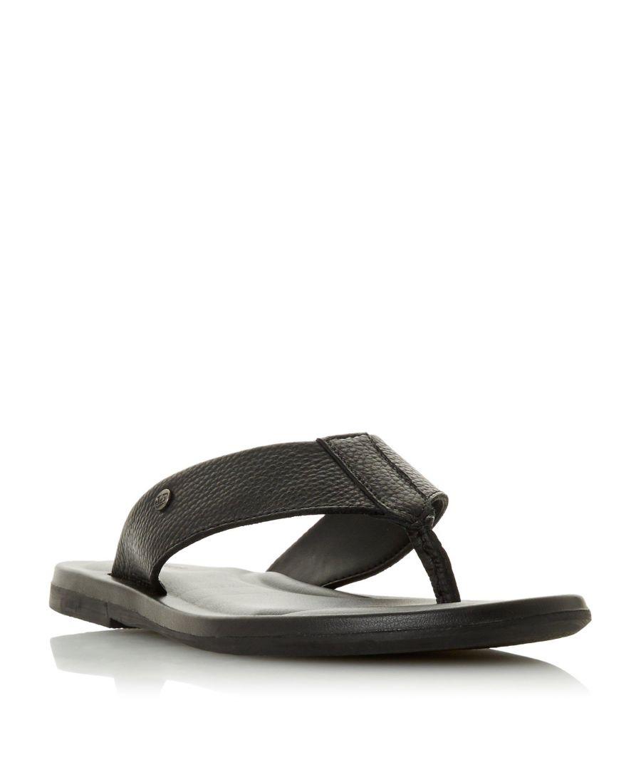 Image for Dune Mens FREDS Toe Post Sandal