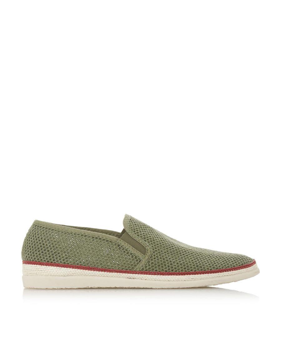 Image for Bertie Mens FRESH Mesh Detail Espadrille Shoes