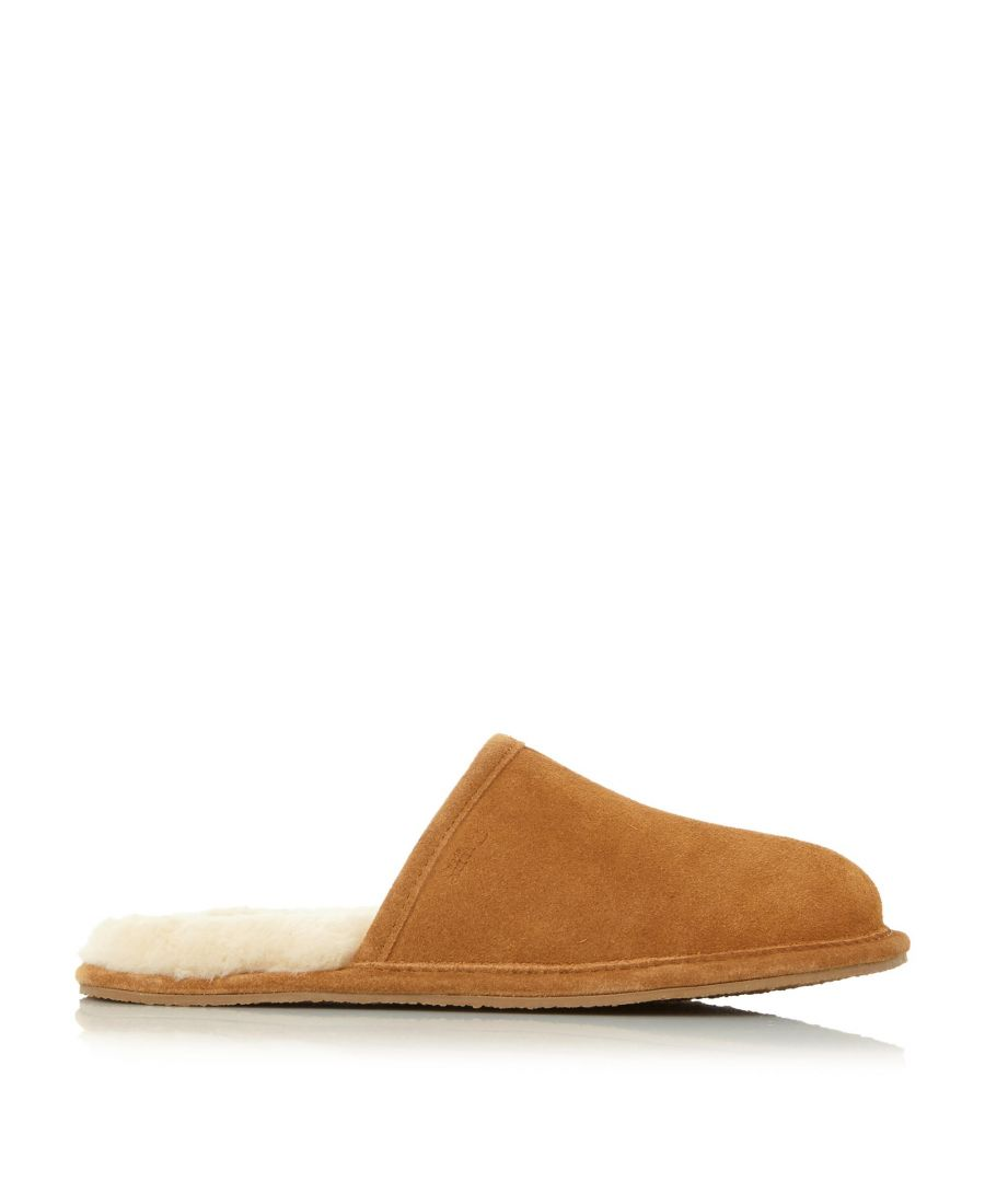 Image for Dune Mens FROSTY Warm Lined Mule Slipper