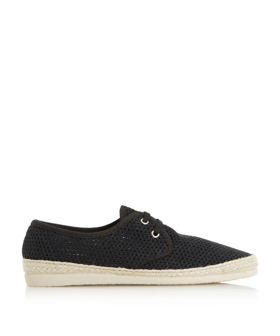 Image for Bertie Mens FRUIT Lace Up Mesh Espadrille Shoes