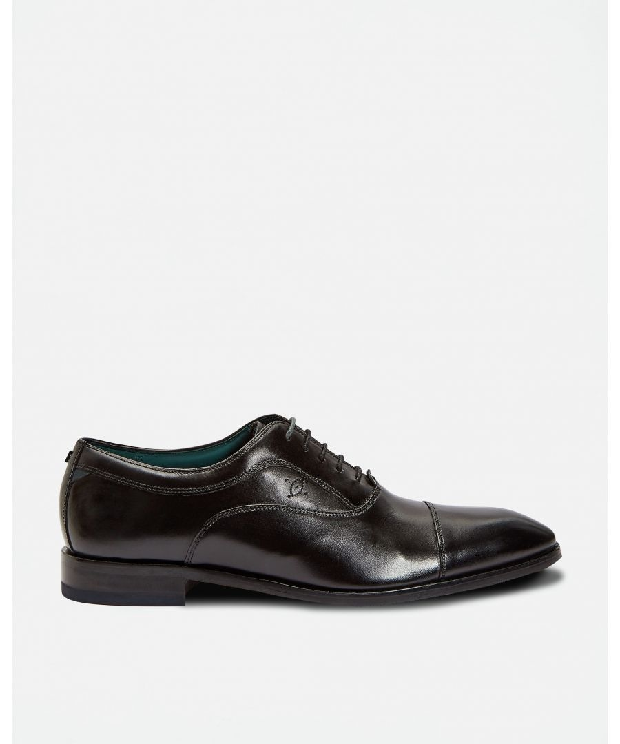 Image for Ted Baker Fually Contemporary Oxford Shoe, Black