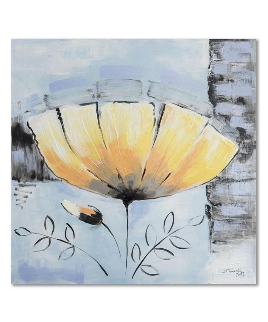 Image for Canvas Print - Winter Flower Cm. 60x60