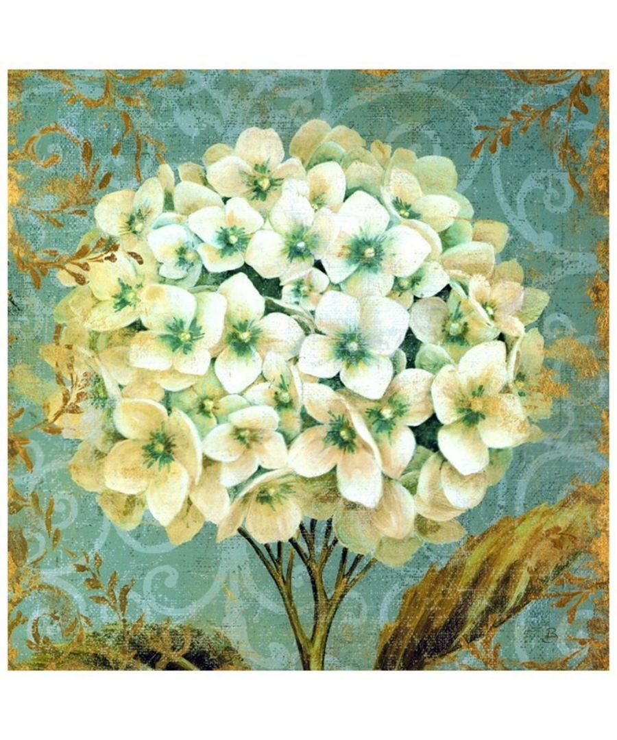 Image for Canvas Print - White Flowers Cm. 90x90