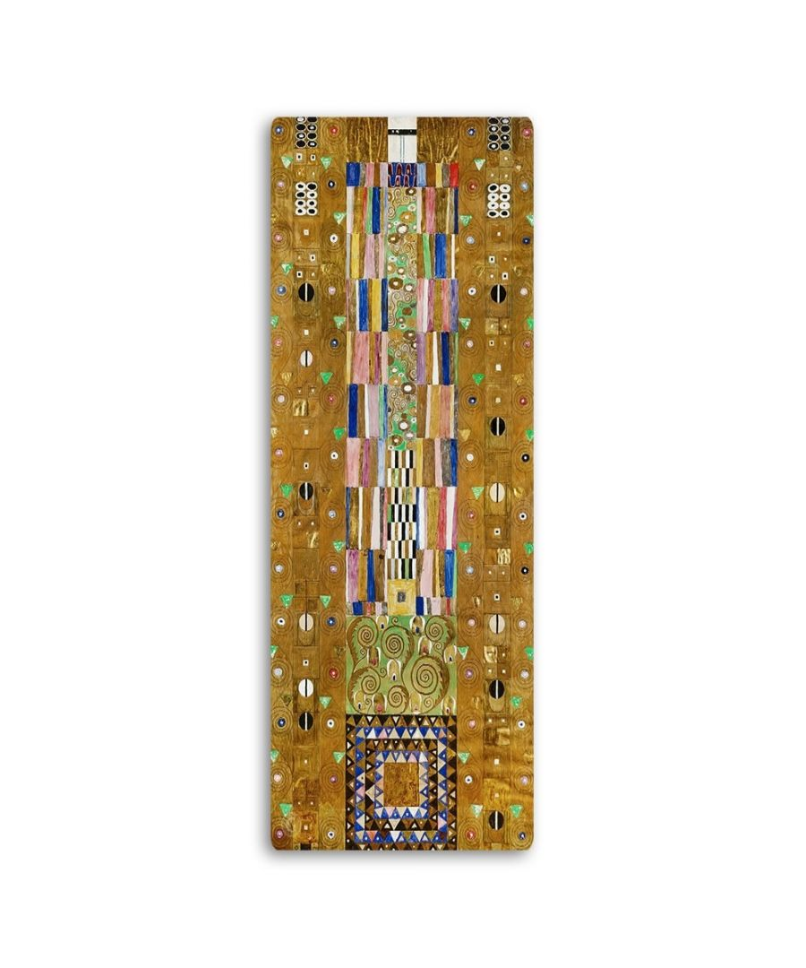 Image for Metal Print - Stocklet Frieze. The Knight - Gustav Klimt