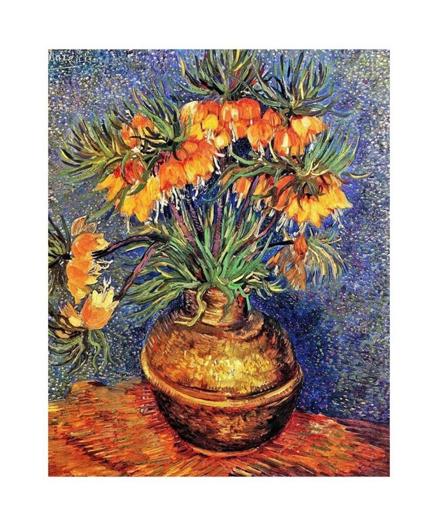 Image for Canvas Print - Imperial Fritillaries In A Copper Vase - Vincent Van Gogh Cm. 80x100