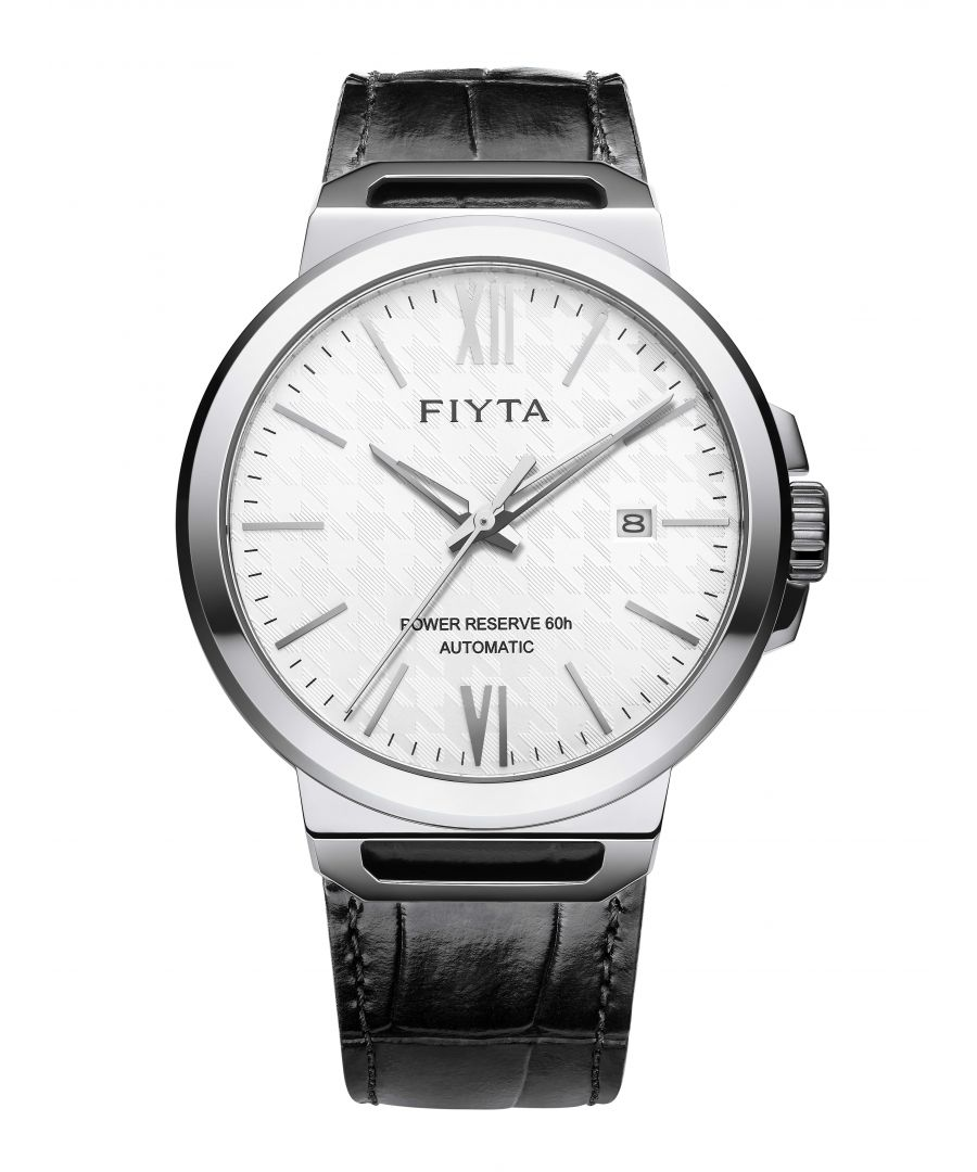 Image for Fiyta Mens Automatic Solo Date Watch