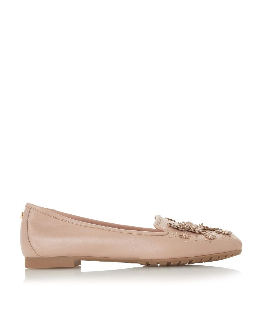 Image for Dune Ladies GABRIELAA Floral Embellished Slipper Cut Loafer