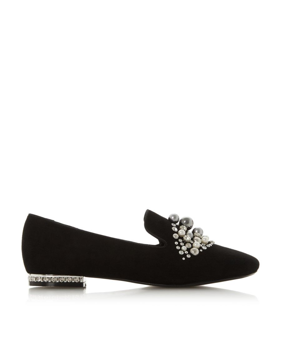 Image for Dune Ladies GALINAA Pearl Embellished Loafer