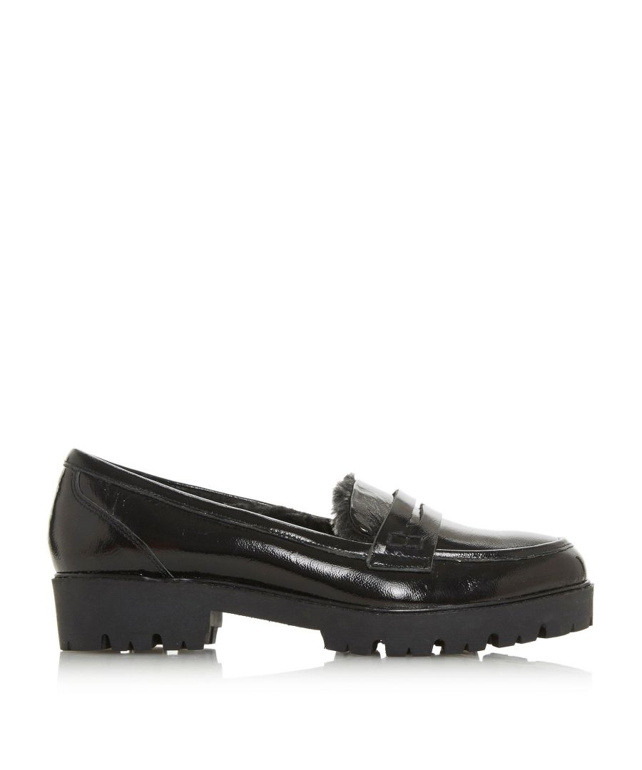 Image for Dune Ladies GARRISSON Faux Fur Lined Loafer