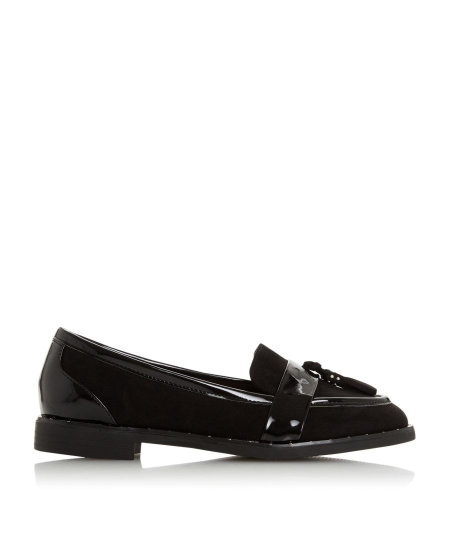 Image for Head Over Heels by Dune Ladies GAVINA Stud Tassel Loafer