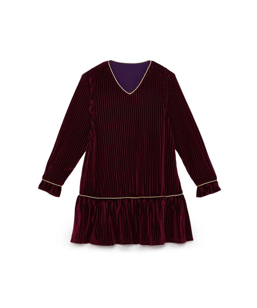 Image for Velvet Stripe Tunic