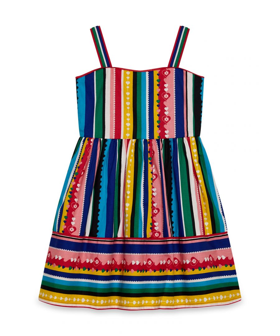 Image for Mexican Heart Stripe Dress