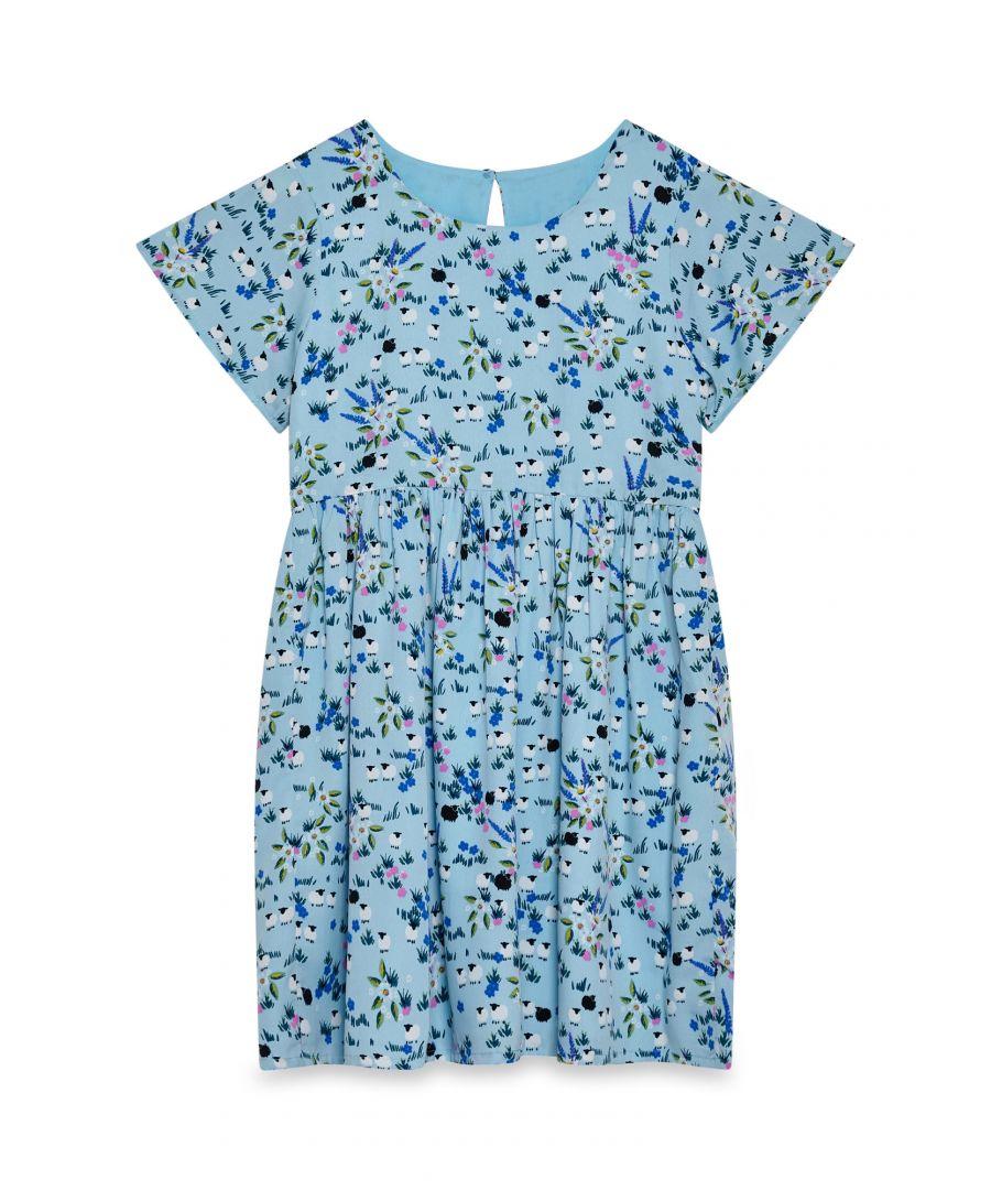 Image for Pleated Waist Meadow Dress