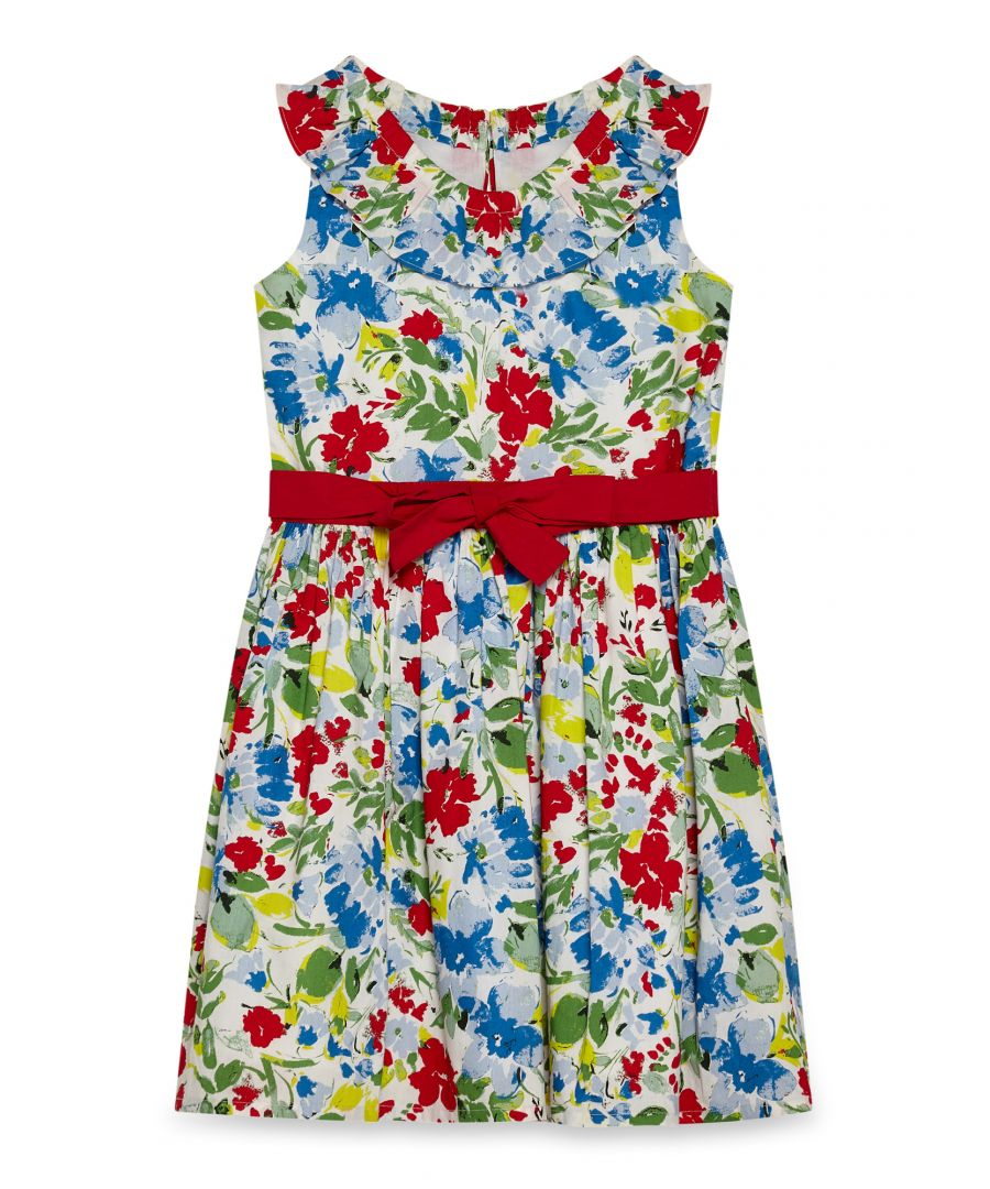 Image for Country Floral Bardot Dress
