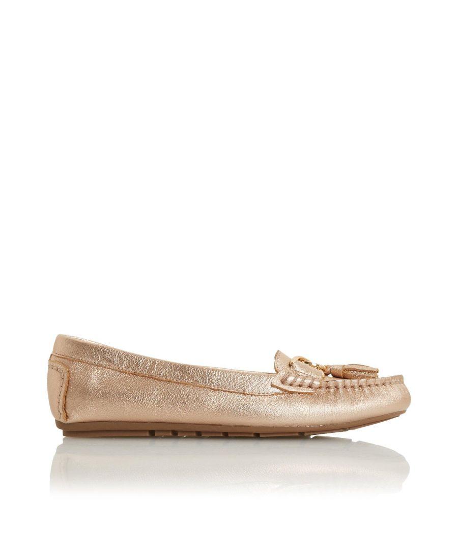 Image for Dune Ladies GEENA Tassel Detail Moccasin Loafer