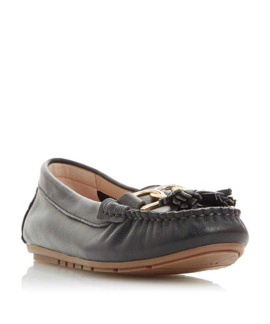 Image for Dune Ladies GEENA Tassel Detail Moccasin Loafer