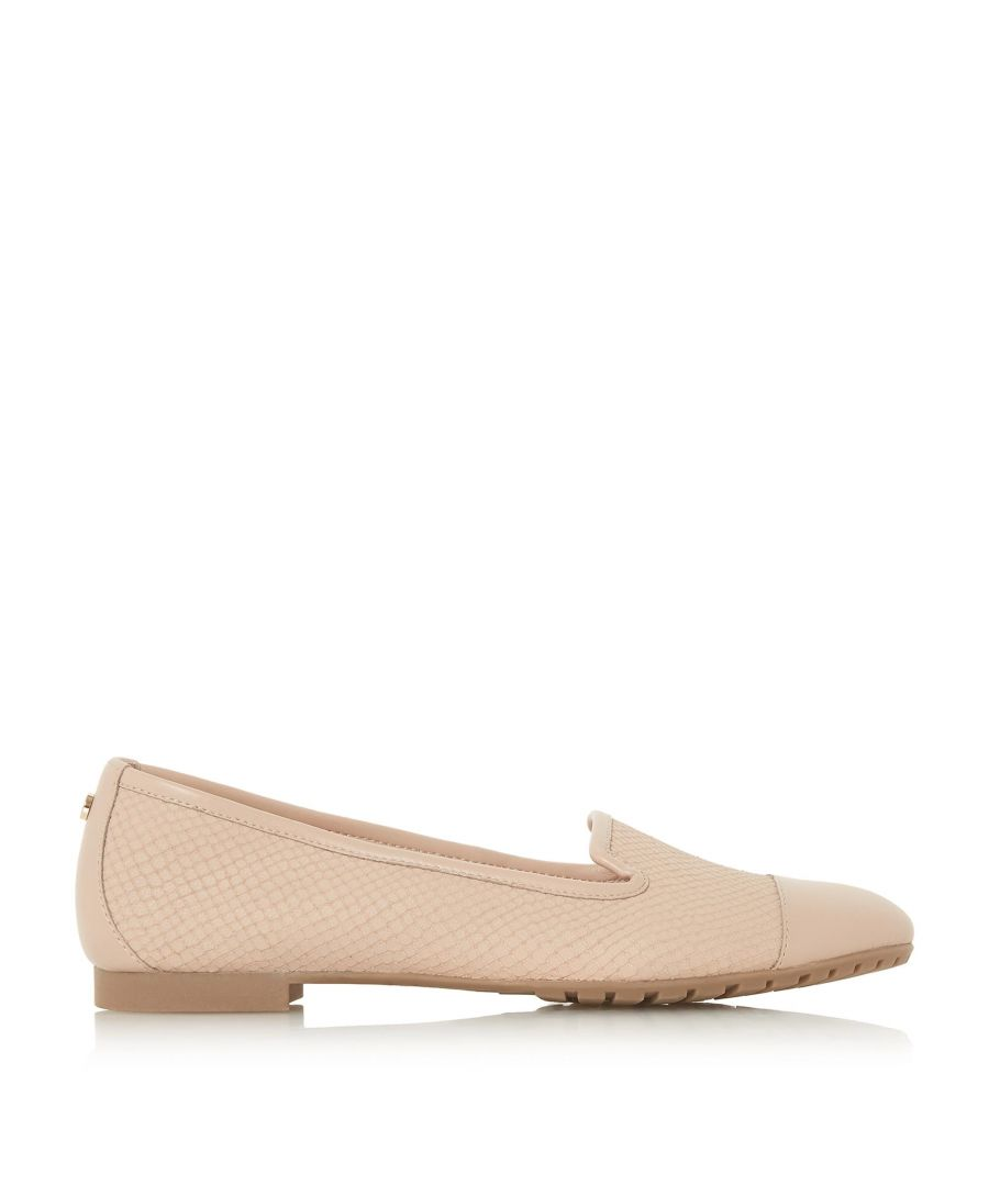 Image for Dune Ladies GENEVENE Slip On Trim Detail Flat Shoe