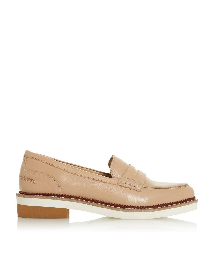 Image for Bertie Ladies GENNY Saddle Strap Loafer