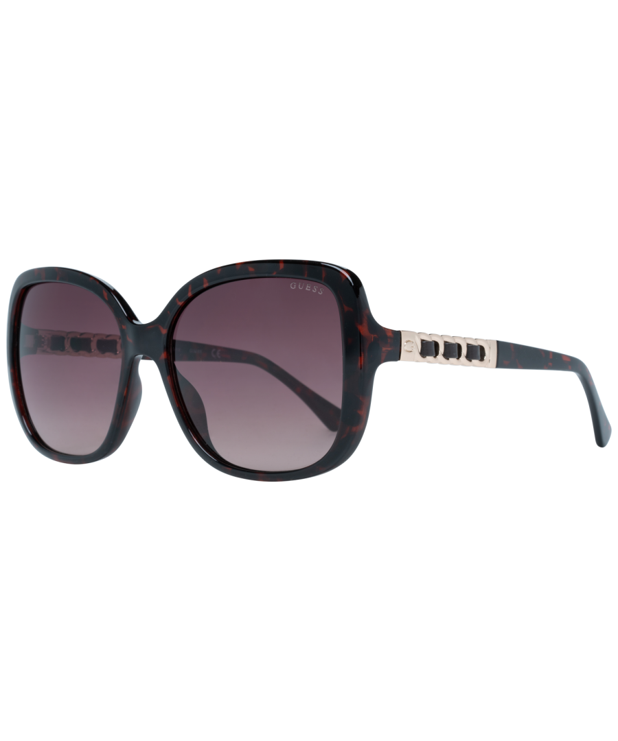 Image for Guess Sunglasses GF6060 52F 61 Women Brown