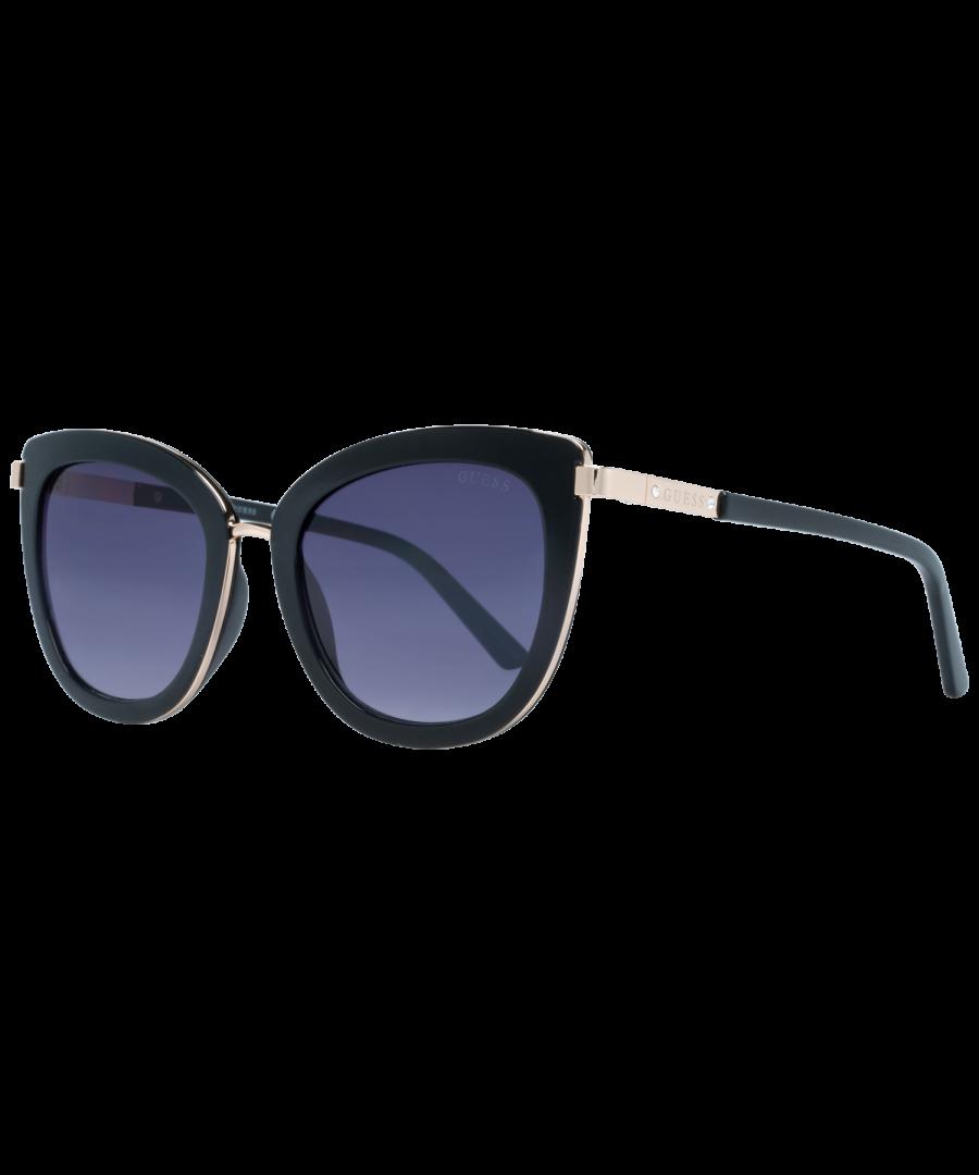 Image for Guess Sunglasses GF6089 01B 52 Women Black