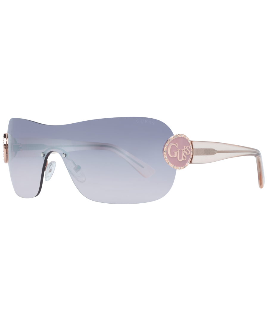 Image for Guess Sunglasses GF6105 28U 56 Women Gold