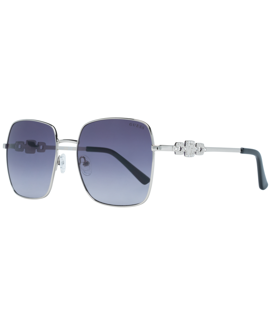 Image for Guess Sunglasses GF6115 10B 57 Women Silver