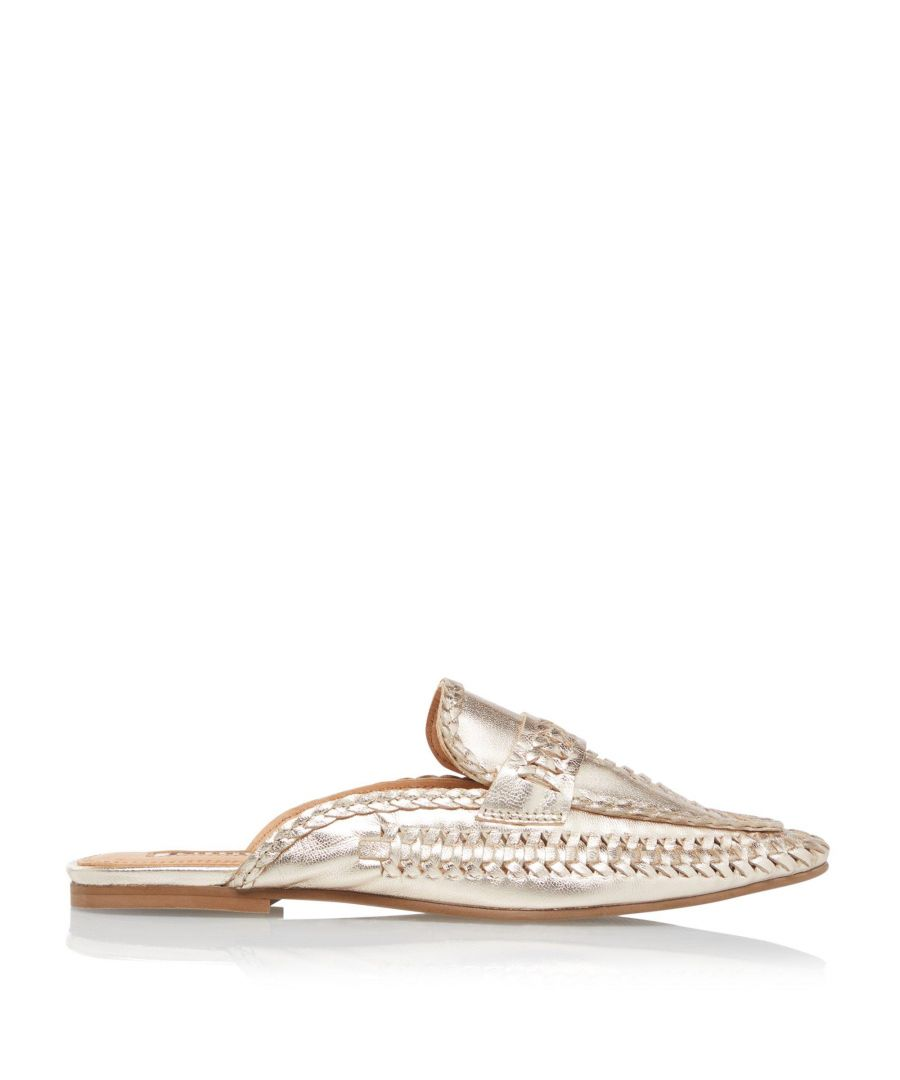 Image for Dune Ladies GIGYS Woven Backless Loafers