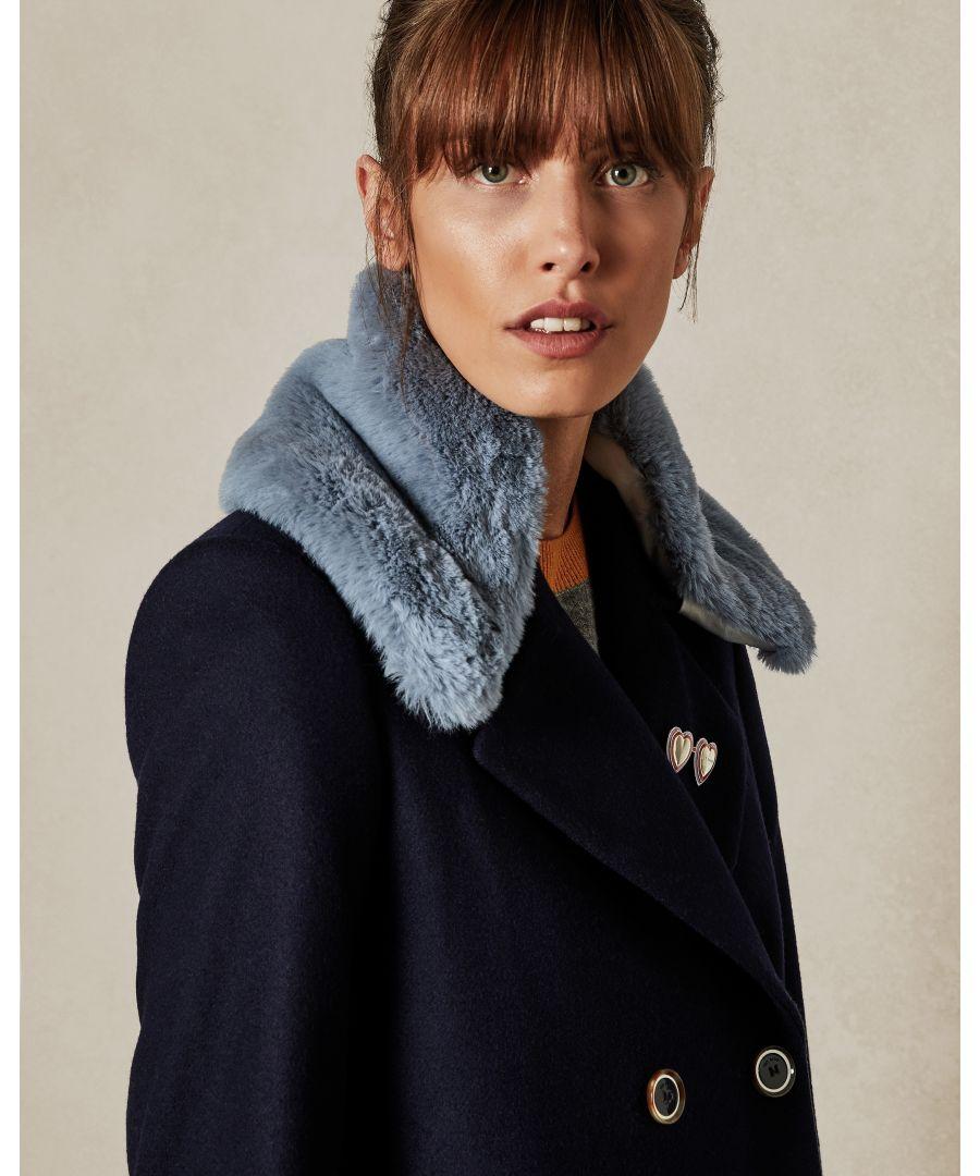 Image for Ted Baker Gijon Soft Blue Collar For Style Gaita, Light Blue