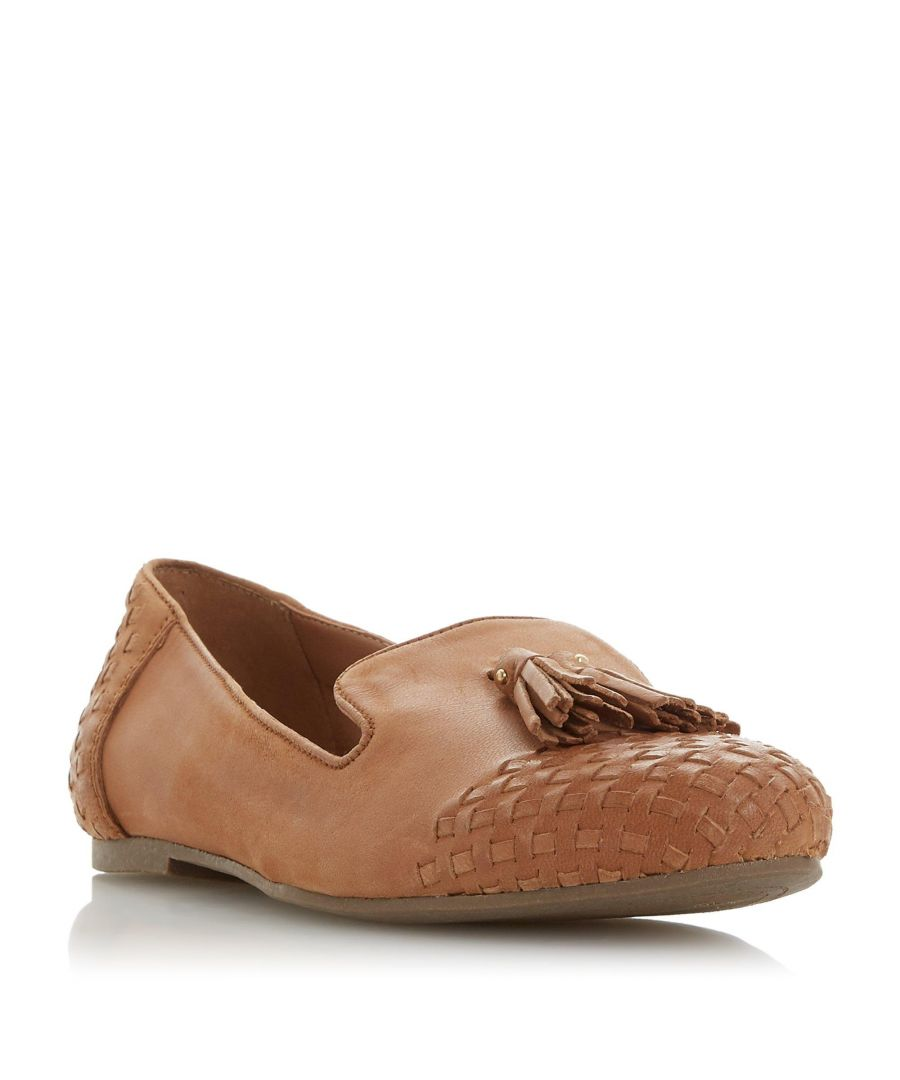 Image for Dune Ladies GILSON Woven Tassel Loafer