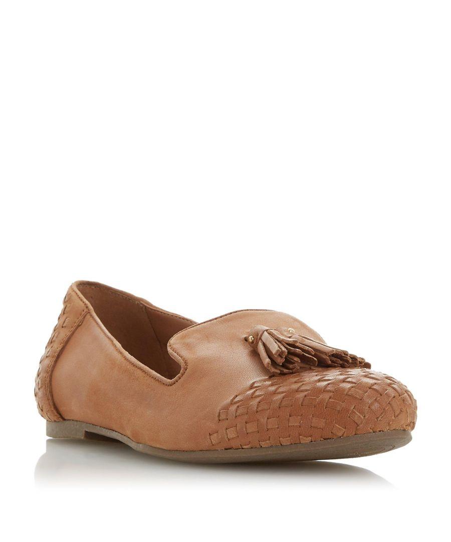 Image for Dune Ladies GILSON Woven Tassel Loafer