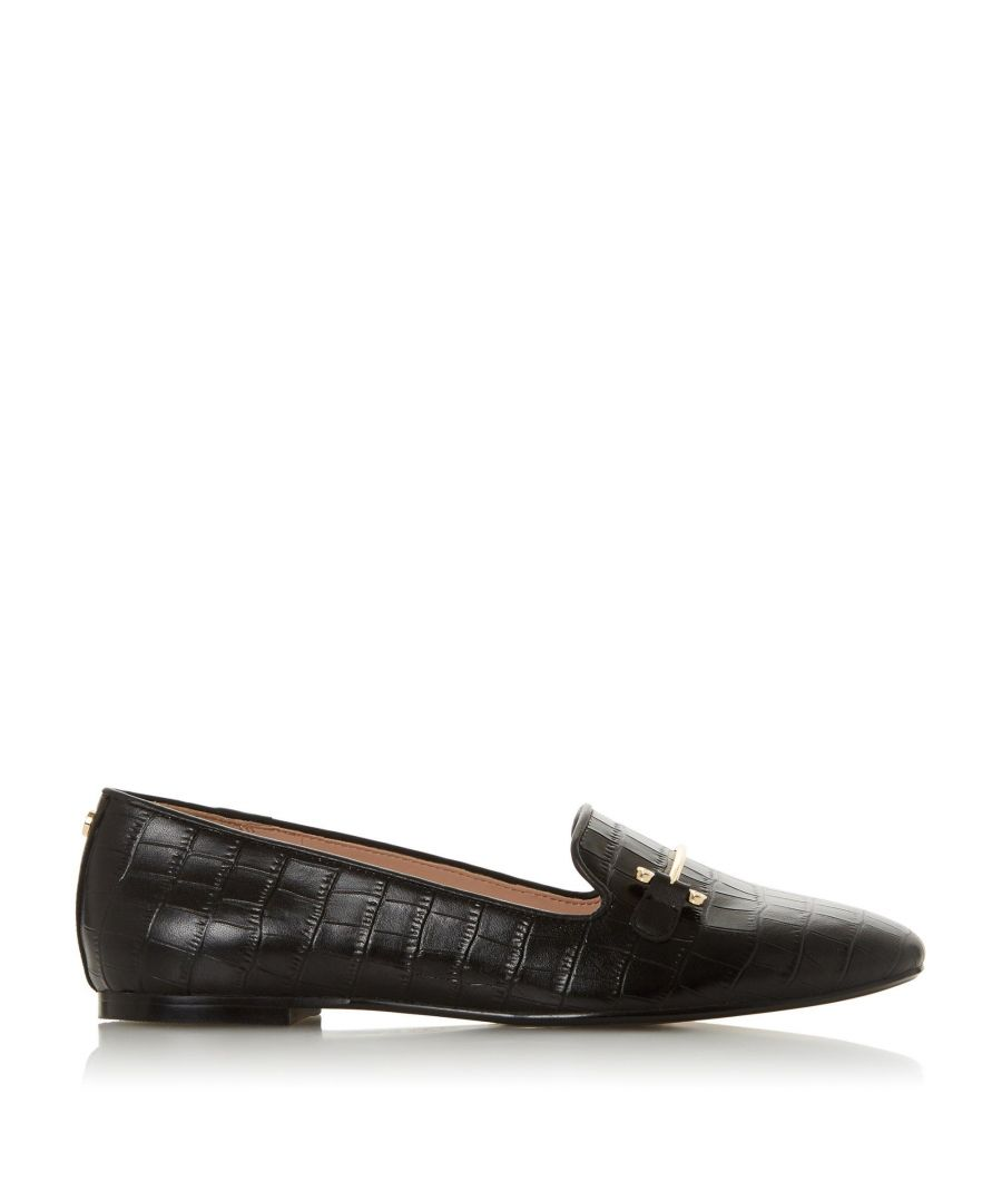 Image for Dune Ladies GINEENE Saddle Detail Loafer