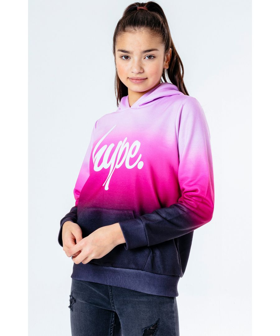 Image for Hype Bubblegum Fade Kids Pullover Hoodie