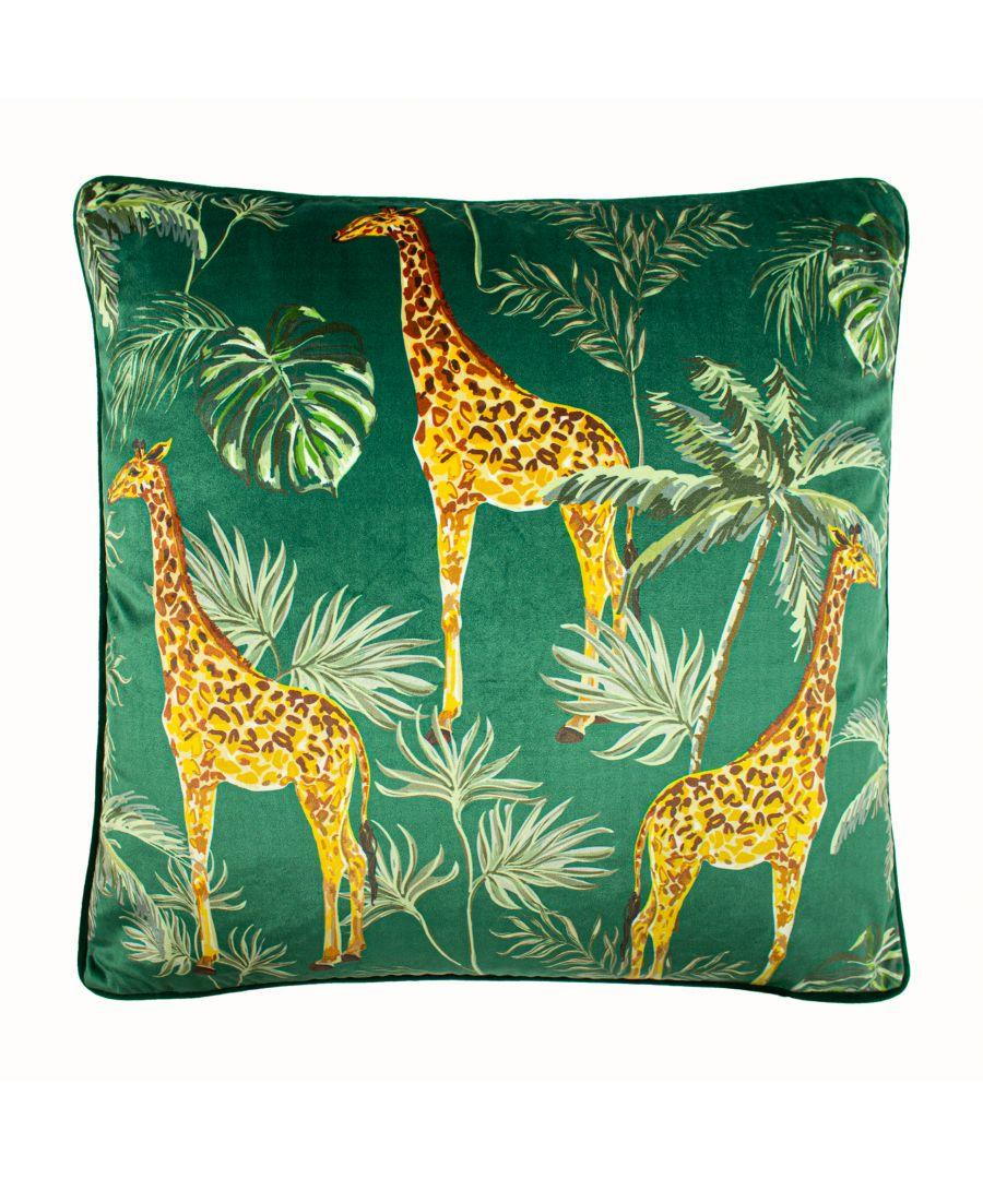 Image for Giraffe Palm Cushion