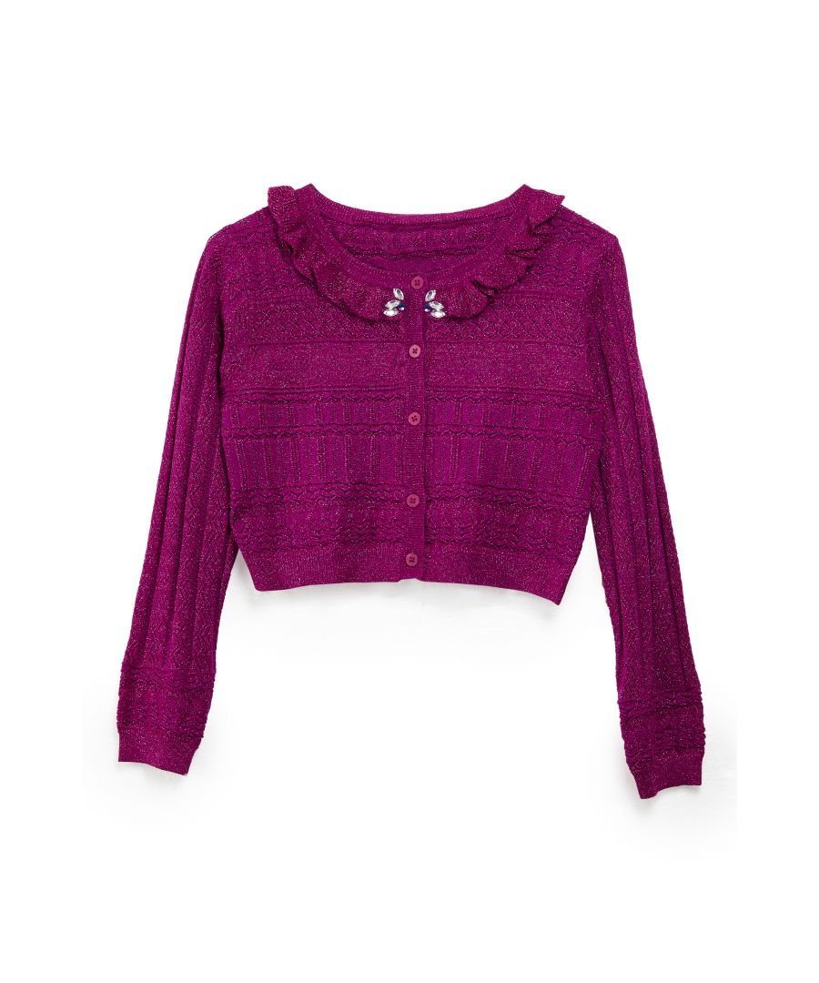 Image for Lurex Party Cardigan