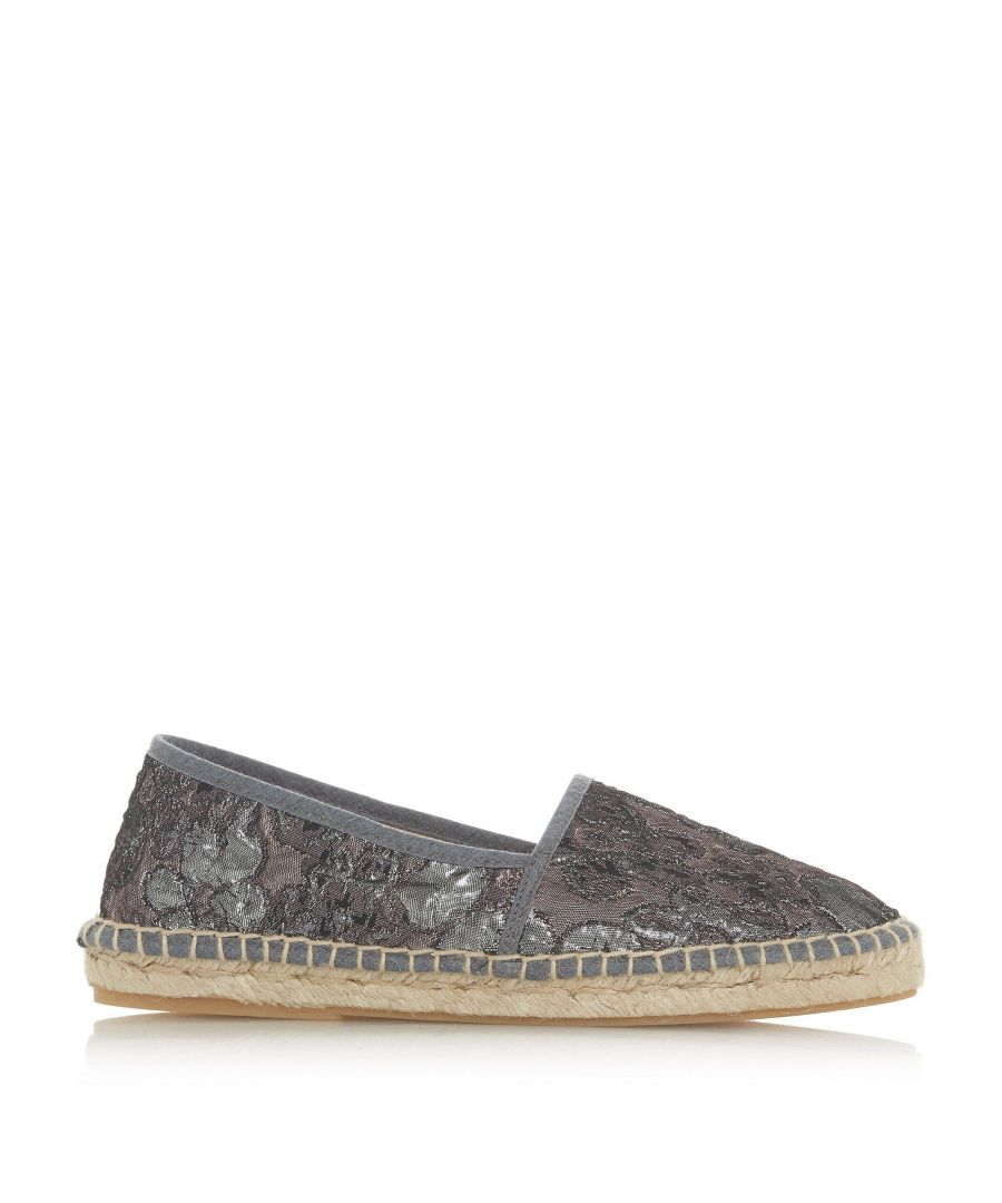 Image for Bertie Ladies GLACI Floral Espadrille Loafer