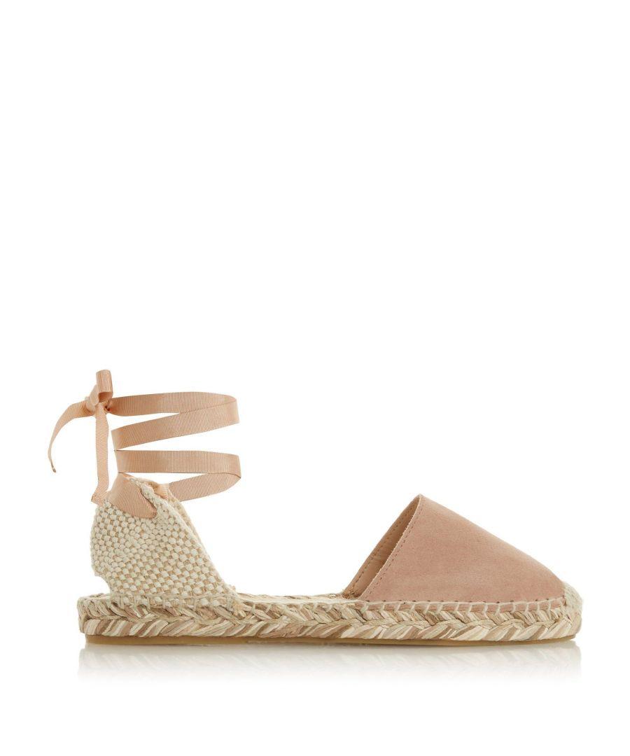 Image for Bertie Ladies GLADES Suede Espadrille Sandals