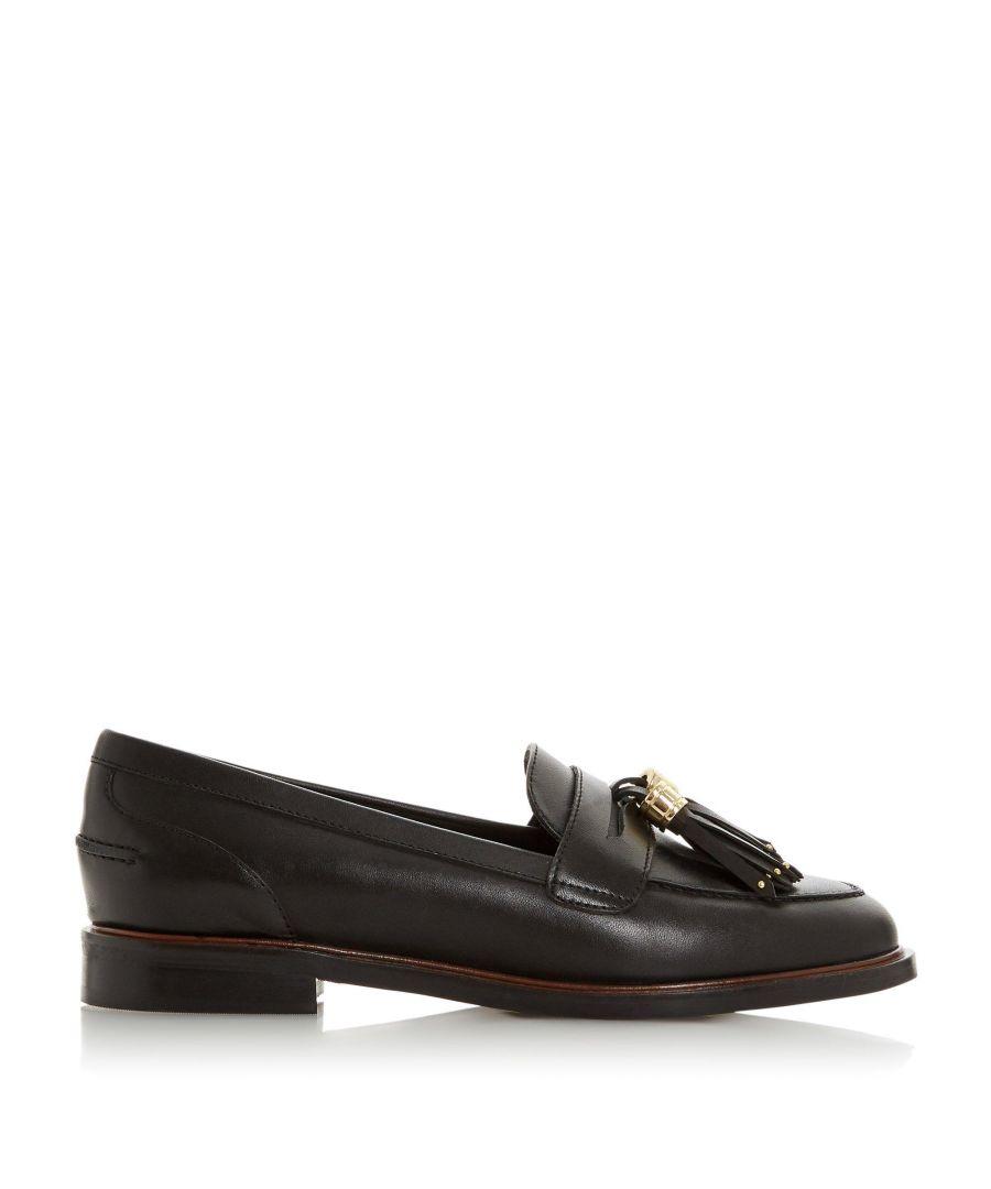 Image for Dune Ladies GLAZER Leather Tasseled Loafer