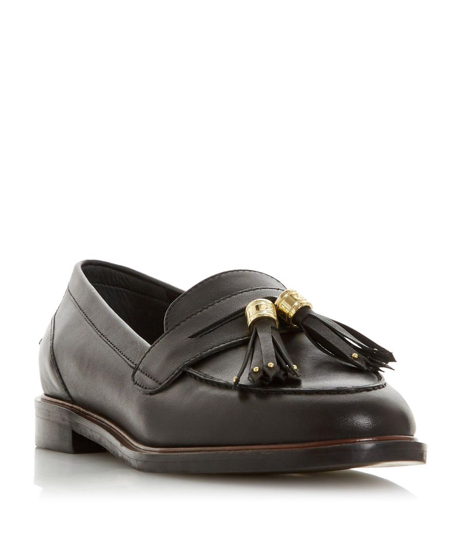Image for Dune Ladies GLAZER Leather Tasseled Loafer
